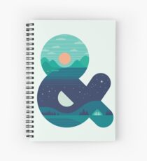 Day & Night Spiral Notebook