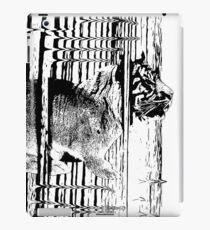 Rabbitiger #redbubble #decor #buyart #artprint iPad Case/Skin