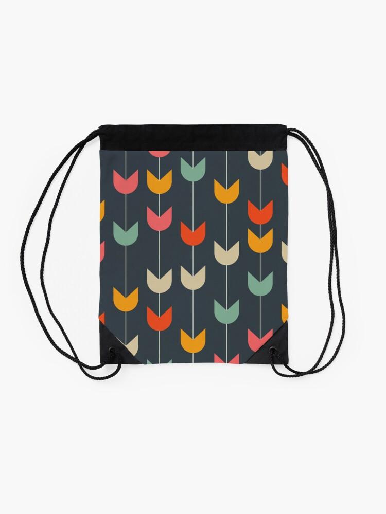 Alternate view of Tulips Drawstring Bag