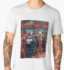 Man cave - football/bar Men's Premium T-Shirt