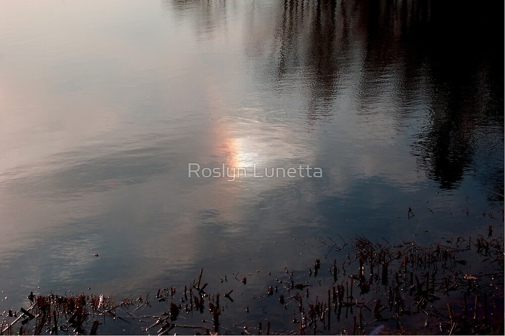 sundog reflection by Roslyn Lunetta