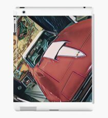 Man cave - classic car iPad Case/Skin