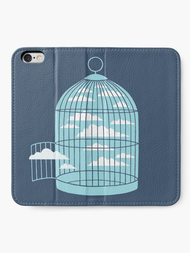 Alternate view of Free as a Bird iPhone Wallet
