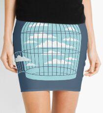 Free as a Bird Mini Skirt