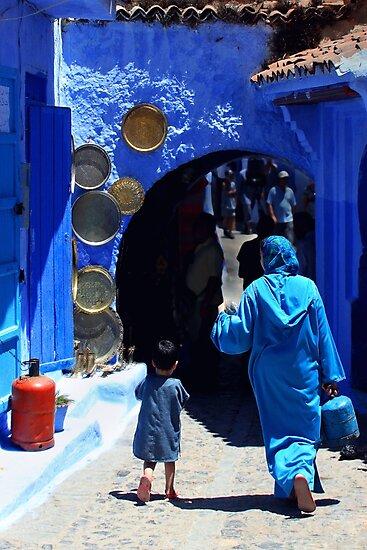 The Blue City II by Didi Bingham