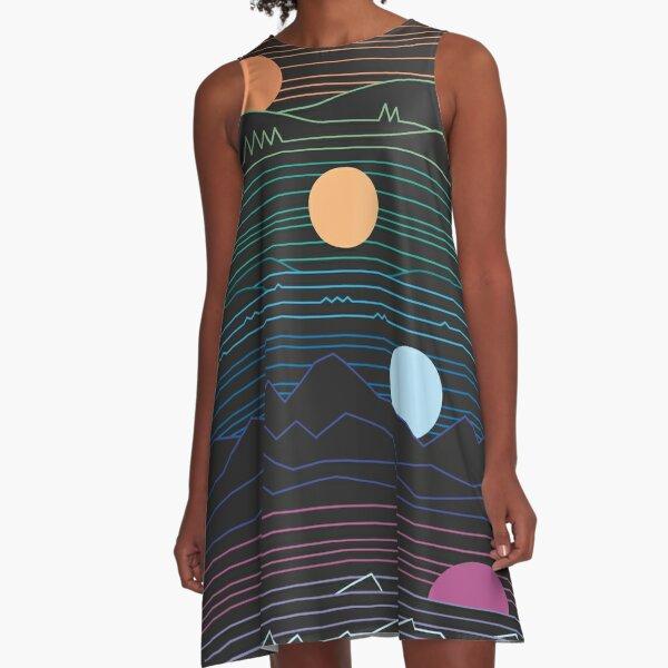 Many Lands Under One Sun A-Line Dress