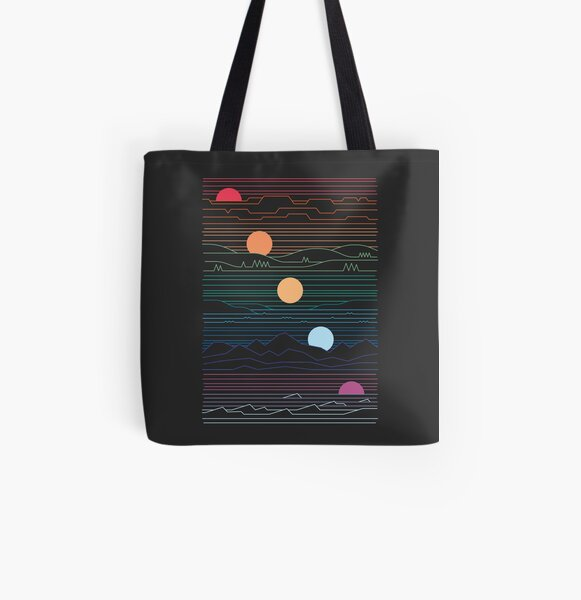 Many Lands Under One Sun All Over Print Tote Bag
