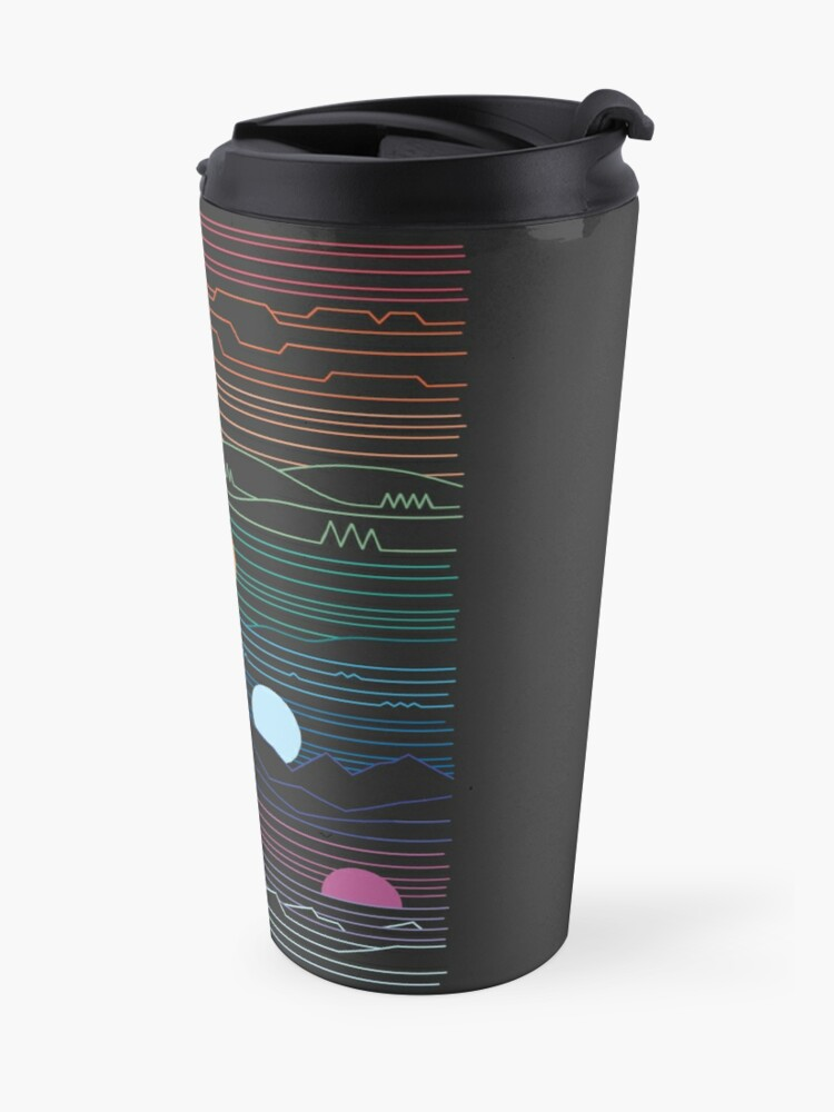 Alternate view of Many Lands Under One Sun Travel Mug