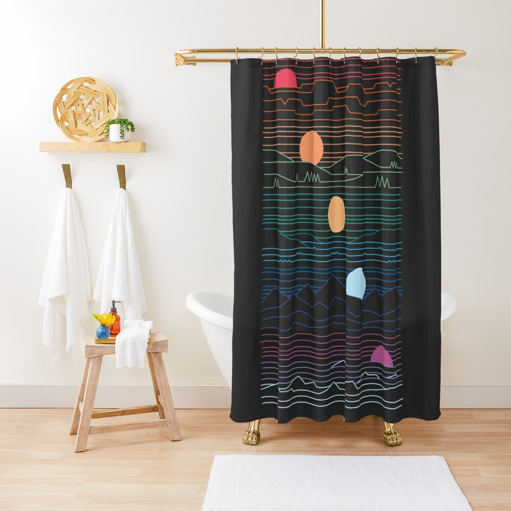 Many Lands Under One Sun Shower Curtain