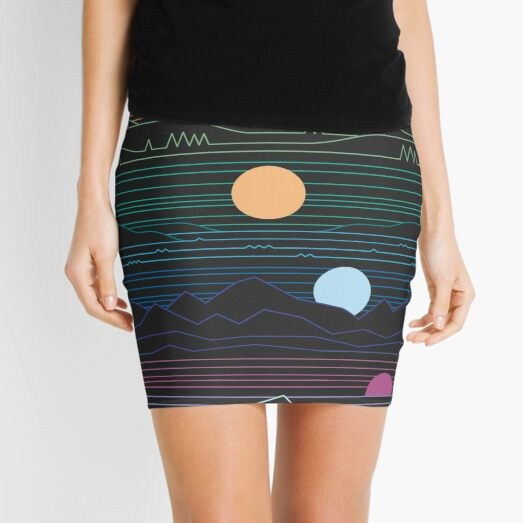 Many Lands Under One Sun Mini Skirt