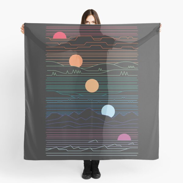 Many Lands Under One Sun Scarf