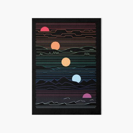 Many Lands Under One Sun Art Board Print