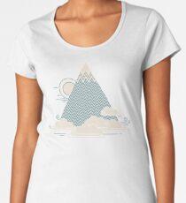 Wolkenberg Premium Rundhals-Shirt