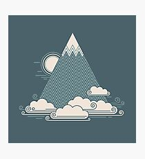 Cloud Mountain Photographic Print