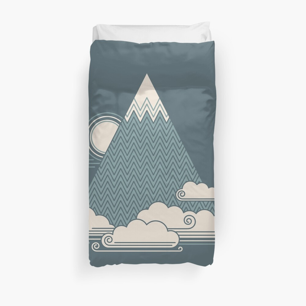 Cloud Mountain Duvet Cover