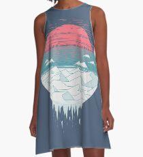 Das große Tauwetter A-Linien Kleid