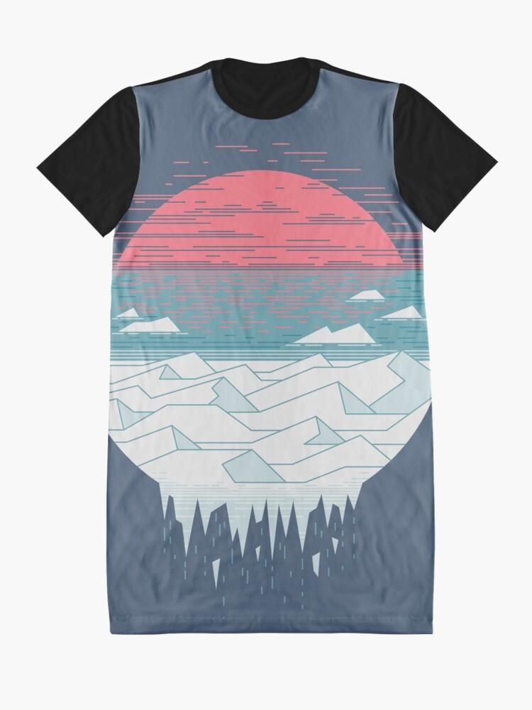 Vista alternativa de Vestido camiseta El gran deshielo