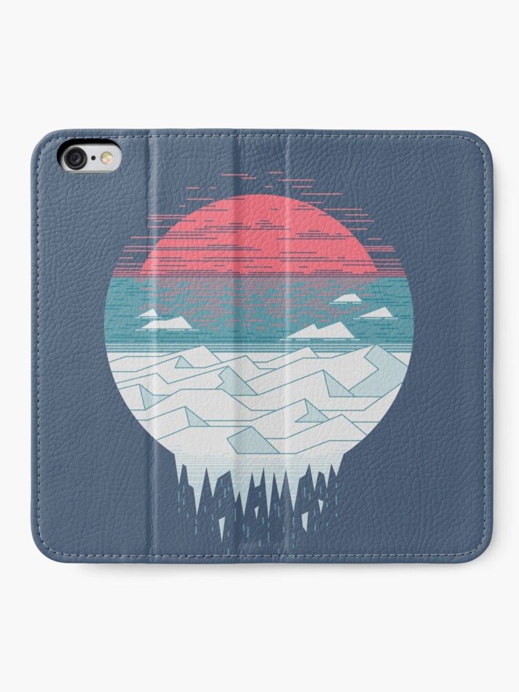 Alternate view of The Great Thaw iPhone Wallet