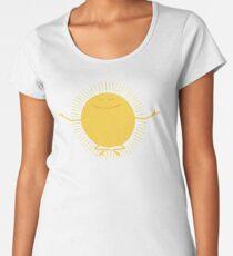 Camiseta premium para mujer Adorador del sol