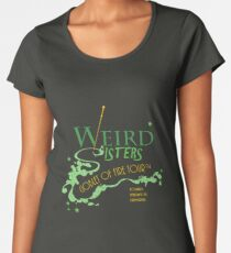 The Weird Sisters Goblet of Fire Tour '94 green Women's Premium T-Shirt