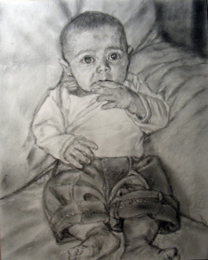 Baby Portrait by Christopher Ripley