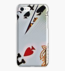 Man cave - deck of cards/royal flush iPhone Case/Skin