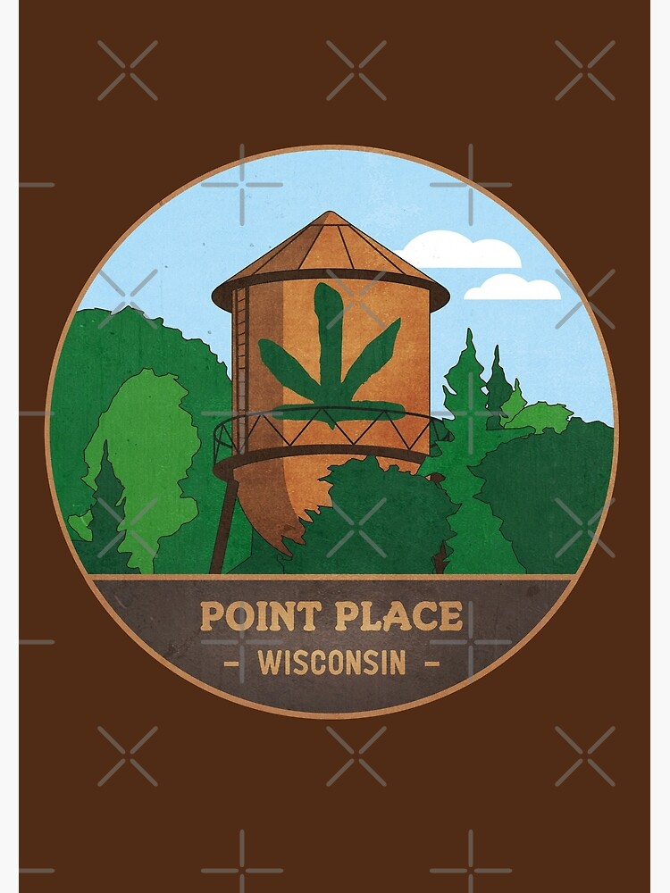 Point Place Water Tower by mctees