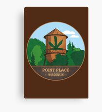 Point Place Water Tower Canvas Print