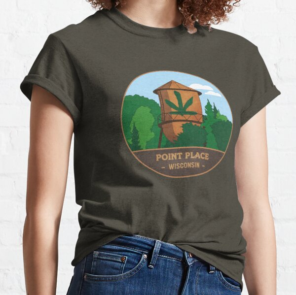 Point Place Water Tower Classic T-Shirt