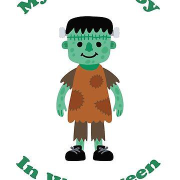 My little boy Frankenstein by netthiagolages