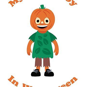 My little boy pumpkin by netthiagolages