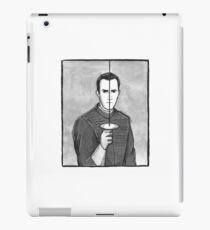 Sherlock Holmes #6 Inktober 2017 Canon Illustration (A Study in Scarlet) iPad Case/Skin
