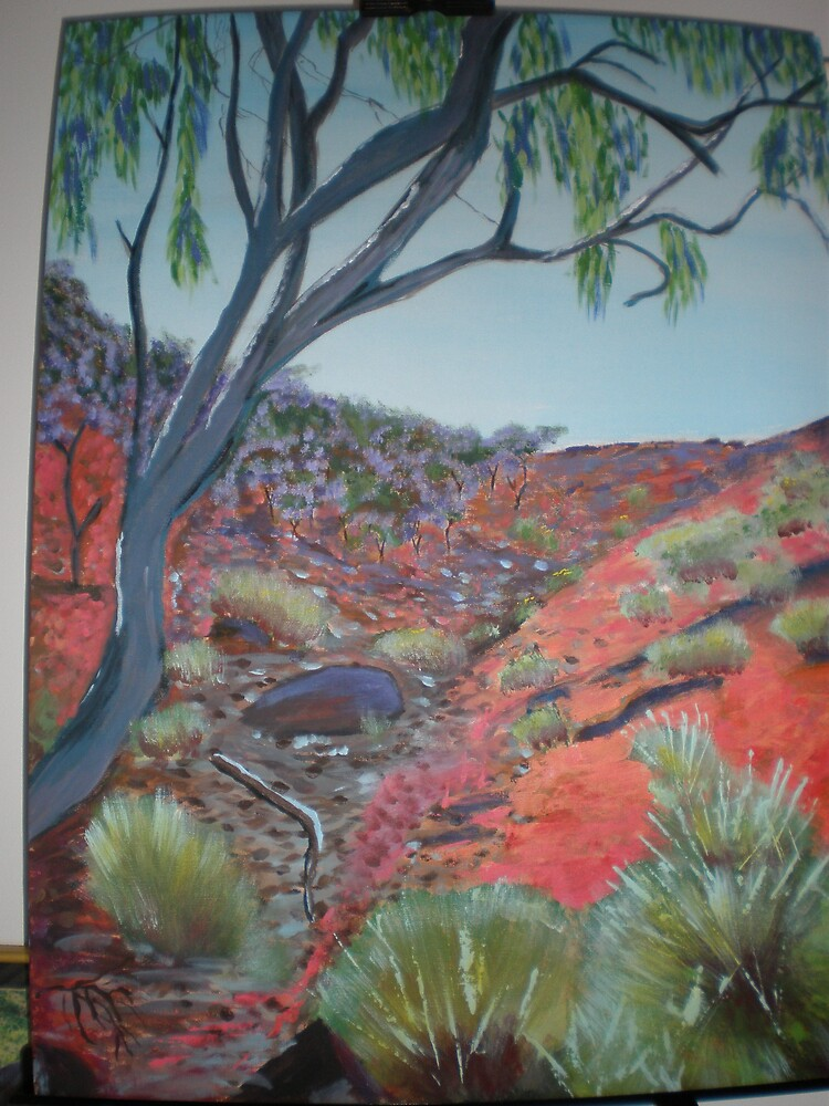 Outback oz in acrylic  by Samoore