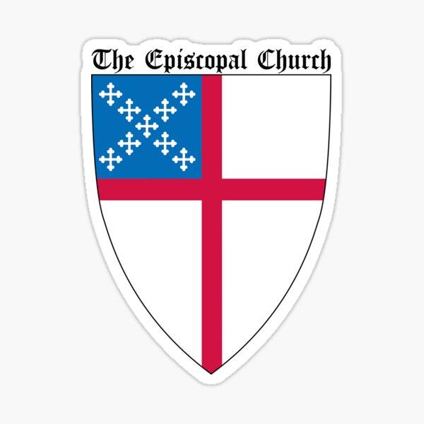 The Episcopal Church Shield Small Design Sticker