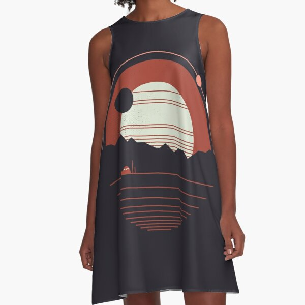 Solitude A-Line Dress