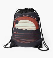 Solitude Drawstring Bag