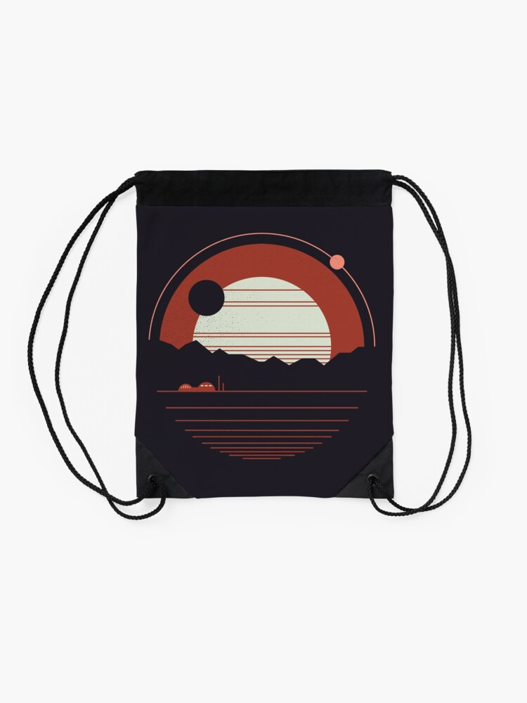 Alternate view of Solitude Drawstring Bag