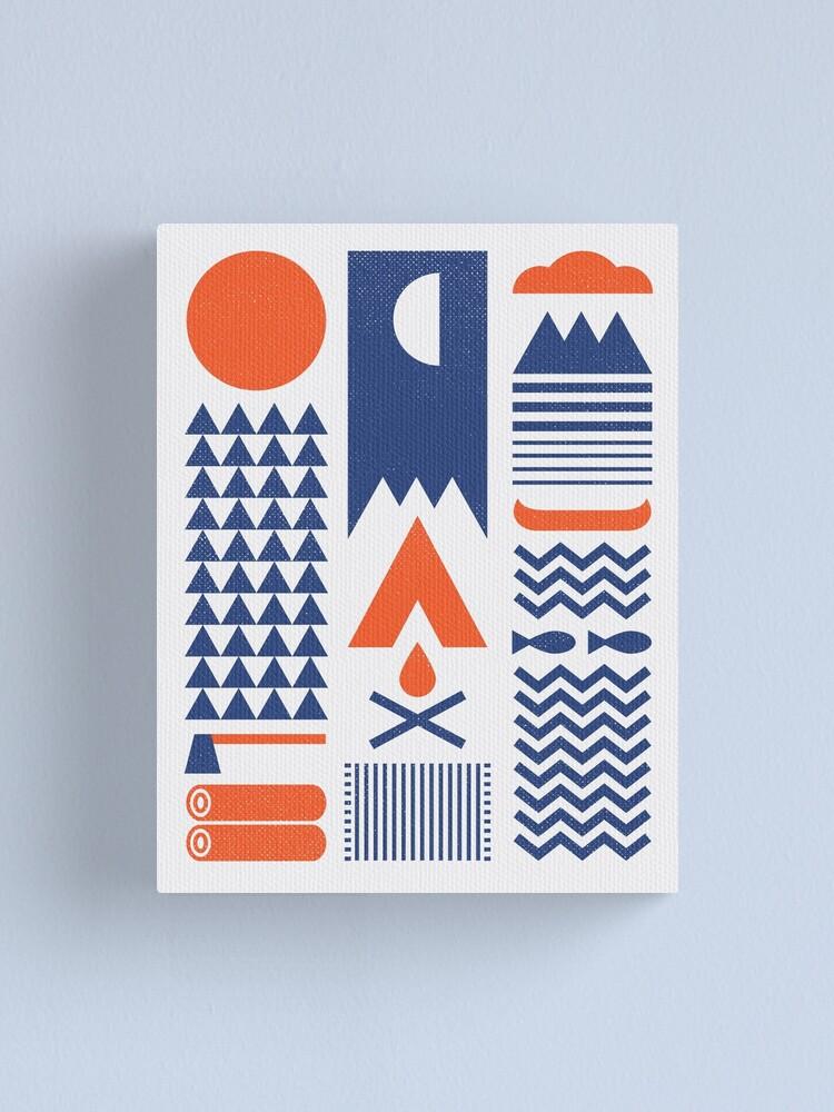 Alternate view of Simplify Canvas Print