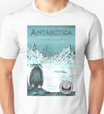 Antarctica - where seeing is believing Unisex T-Shirt