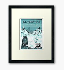 Antarctica - where seeing is believing Framed Print