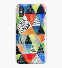 Doodled Geometry iPhone Case/Skin