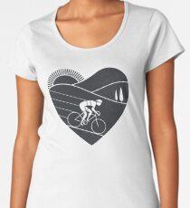 Love Cycling  Women's Premium T-Shirt