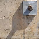Bolted Plate and Shadow by Craig Watson
