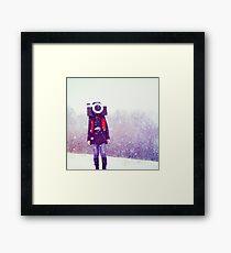 Photography Addict Framed Print