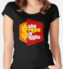 The Price Is Right (Reality Show) Women's Fitted Scoop T-Shirt
