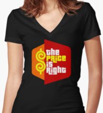 The Price Is Right (Reality Show) Women's Fitted V-Neck T-Shirt