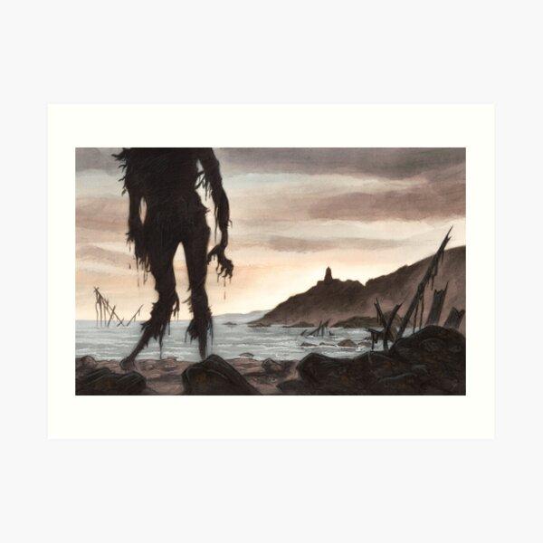 The Beach Ghost Art Print