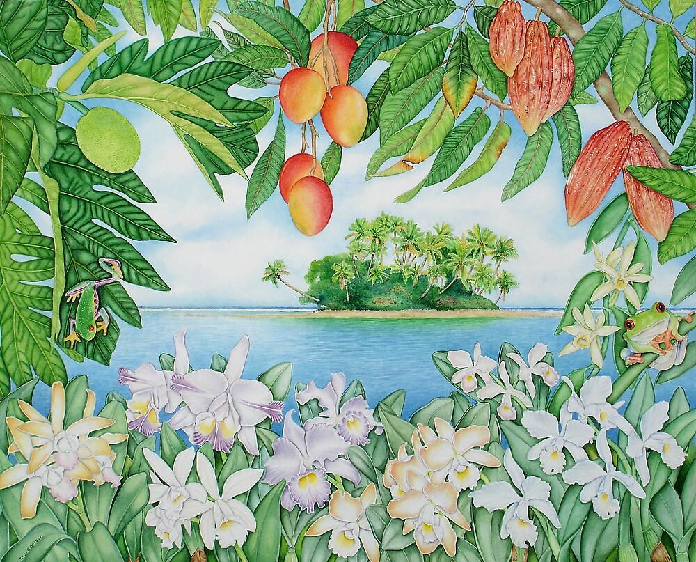 Tropical Island by joeyartist