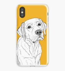 Labrador Dog Portrait iPhone Case/Skin