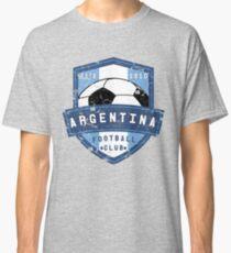 Argentina Football Club Vintage Distressed Soccer Sports Design Classic T-Shirt